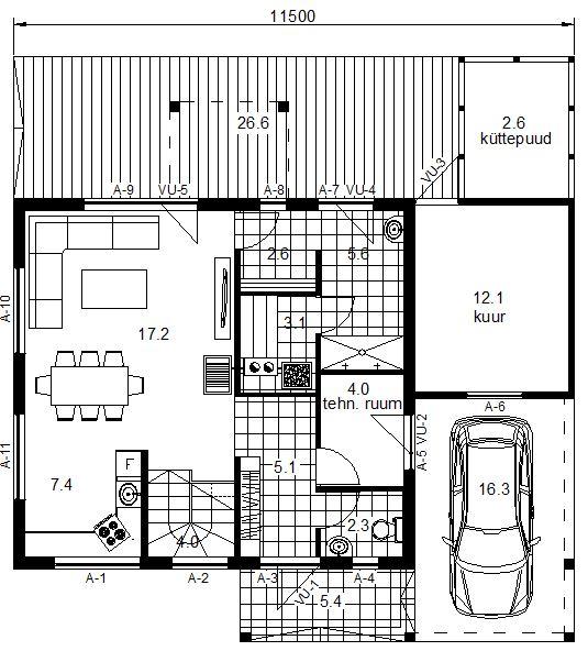 Modern 100, I korruse plaan.JPG